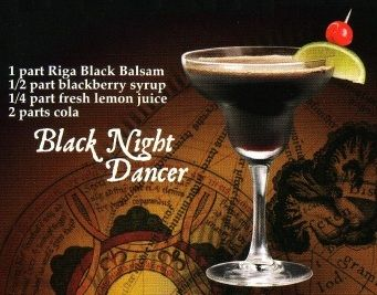 Коктейль «Black Night Dancer»